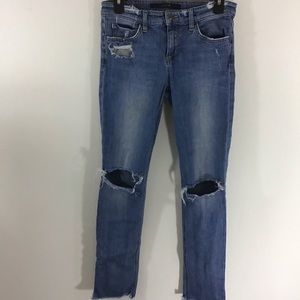 Joes jeans distressed jeans, size 26